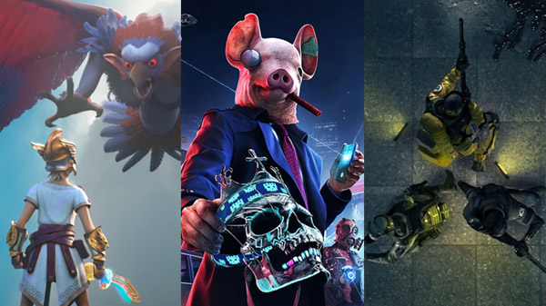 Gods & Monsters, Watch Dogs: Legion, and Rainbow Six Quarantine