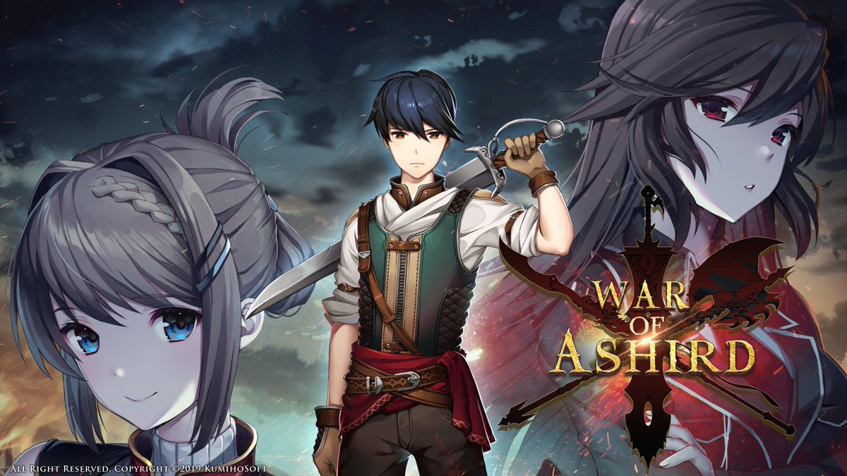 Fantasy strategy RPG War of Ashird coming to PS4, Switch, and PC - Gematsu