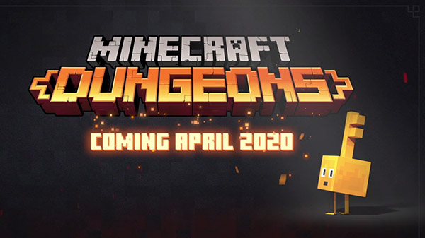 Minecraft Dungeons Will Be Releasing in April 2020