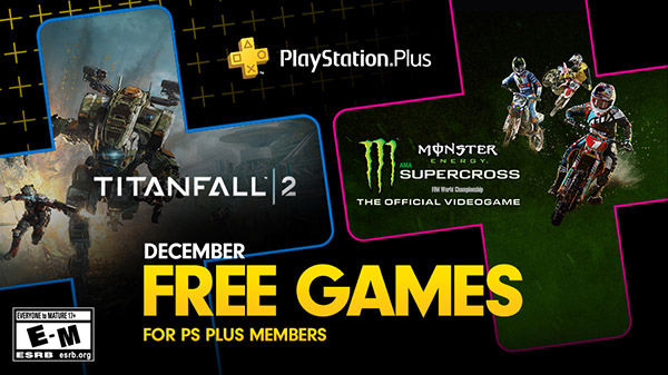 PlayStation Plus free games for December 2019