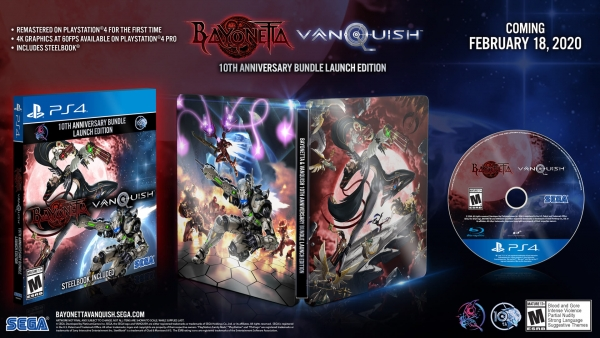 Bayonetta, Vanquish Double Pack Coming in 2020 to PS4, Xbox One