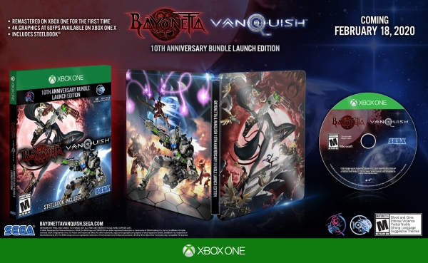 Bayonetta & Vanquish 10th Anniversary Bundle announced for PS4, Xbox One