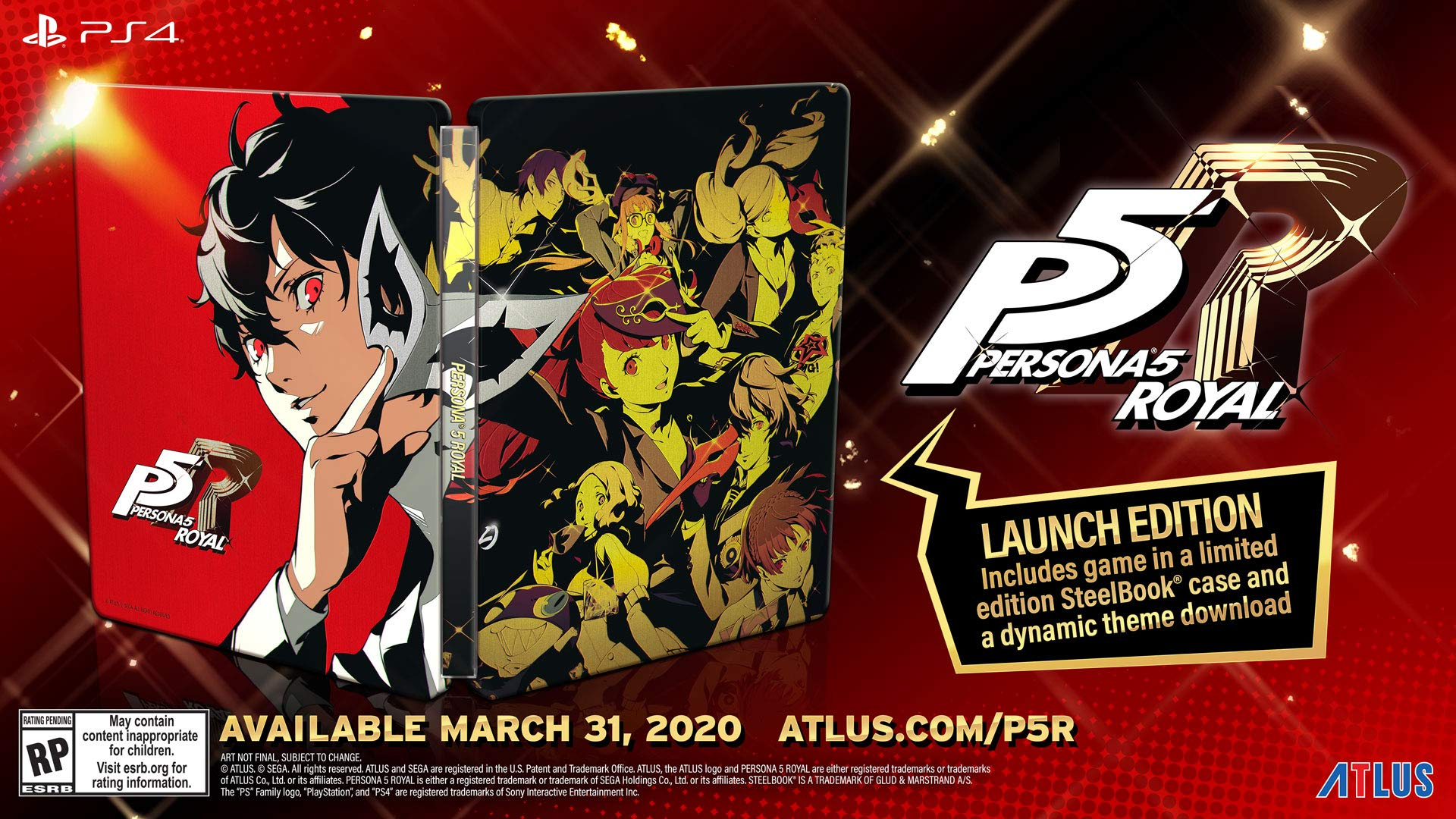 Ps4 Free Games March 2020.Persona 5 Royal Launches March 31 2020 In The West Gematsu