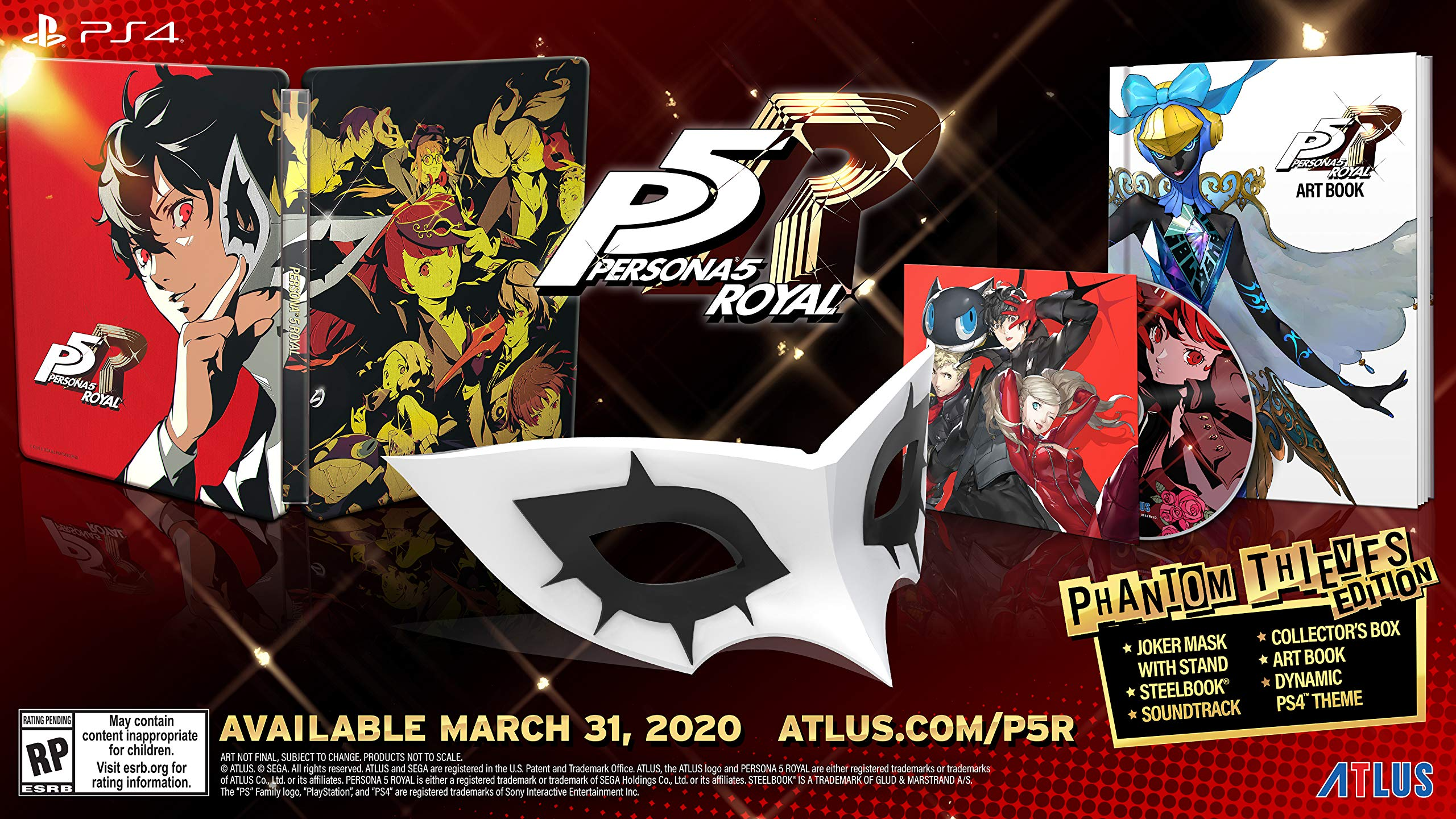 Free Psn Games March 2020.Persona 5 Royal Launches March 31 2020 In The West Gematsu