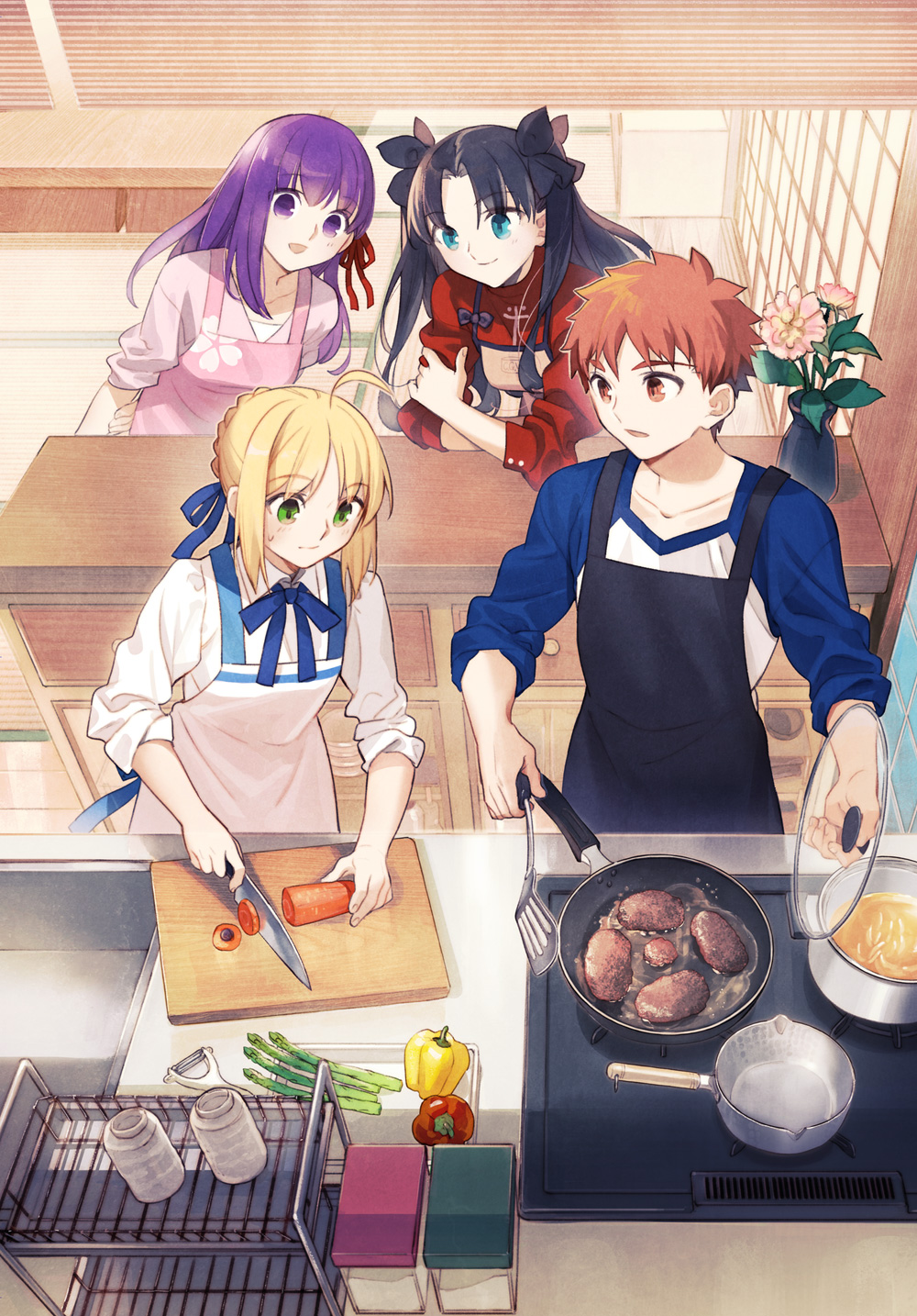 Fate Stay Night Spin Off Adventure Game Everyday Today S Menu For The Emiya Family Announced For Switch Gematsu Just stick with what you could pick up from fate/zero and make your own ending. gematsu