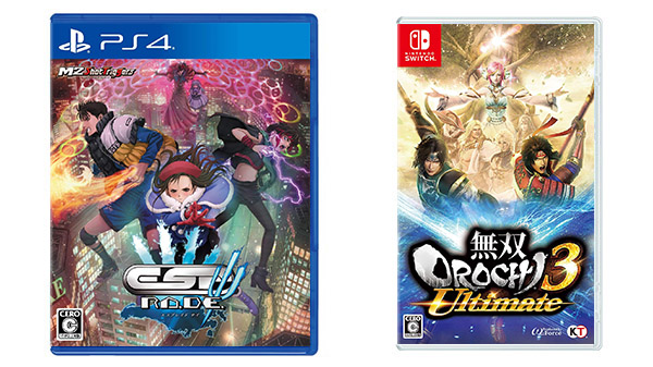 This Week's Japanese Game Releases: ESP Ra.De. Psi, Warriors Orochi 4 Ultimate, more
