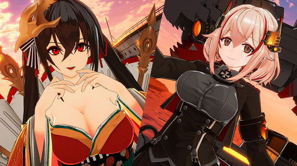 Azur Lane: Crosswave DLC characters Taihou and Roon