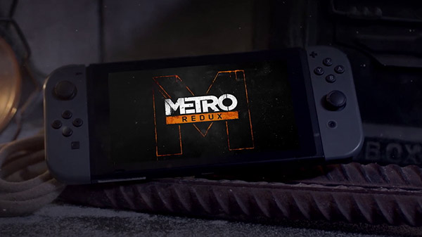 Metro Redux is headed to the Nintendo Switch