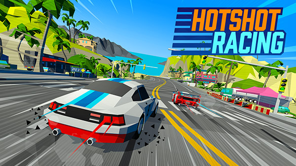 Retro-inspired racing game Hotshot Racing announced for PS4, Xbox One, Switch, and PC - Gematsu