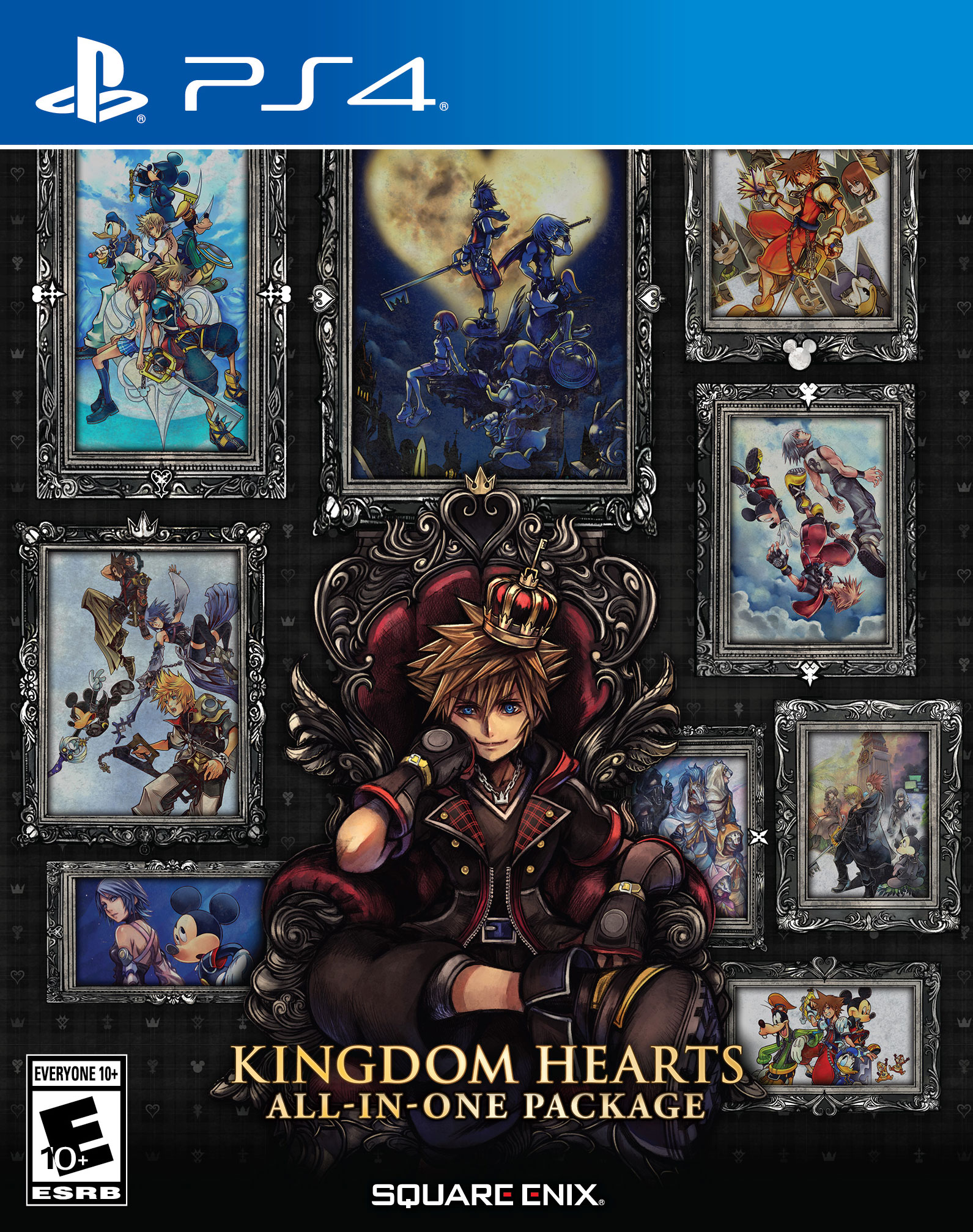 Kingdom Hearts All In One Package Physical Edition Coming To Ps4 On March 17 In North America Gematsu