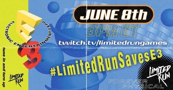 Limited Run Games E3 2020 press conference