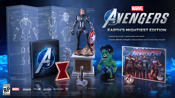 Marvel's Avengers 'Earth's Mightiest Edition' and Pre-Order Incentives Unveiled