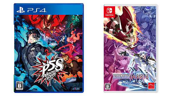 This Week's Japanese Game Releases: Persona 5 Scramble: The Phantom Strikers, Under Night In-Birth Exe:Late[cl-r], more