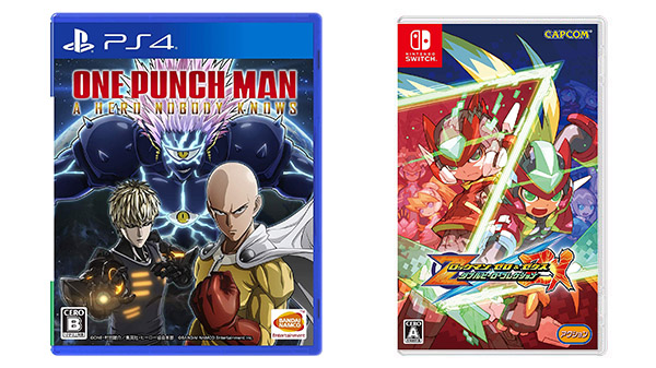 This Week's Japanese Game Releases: One Punch Man: A Hero Nobody Knows, Mega Man Zero/ZX Legacy Collection, more - Gematsu
