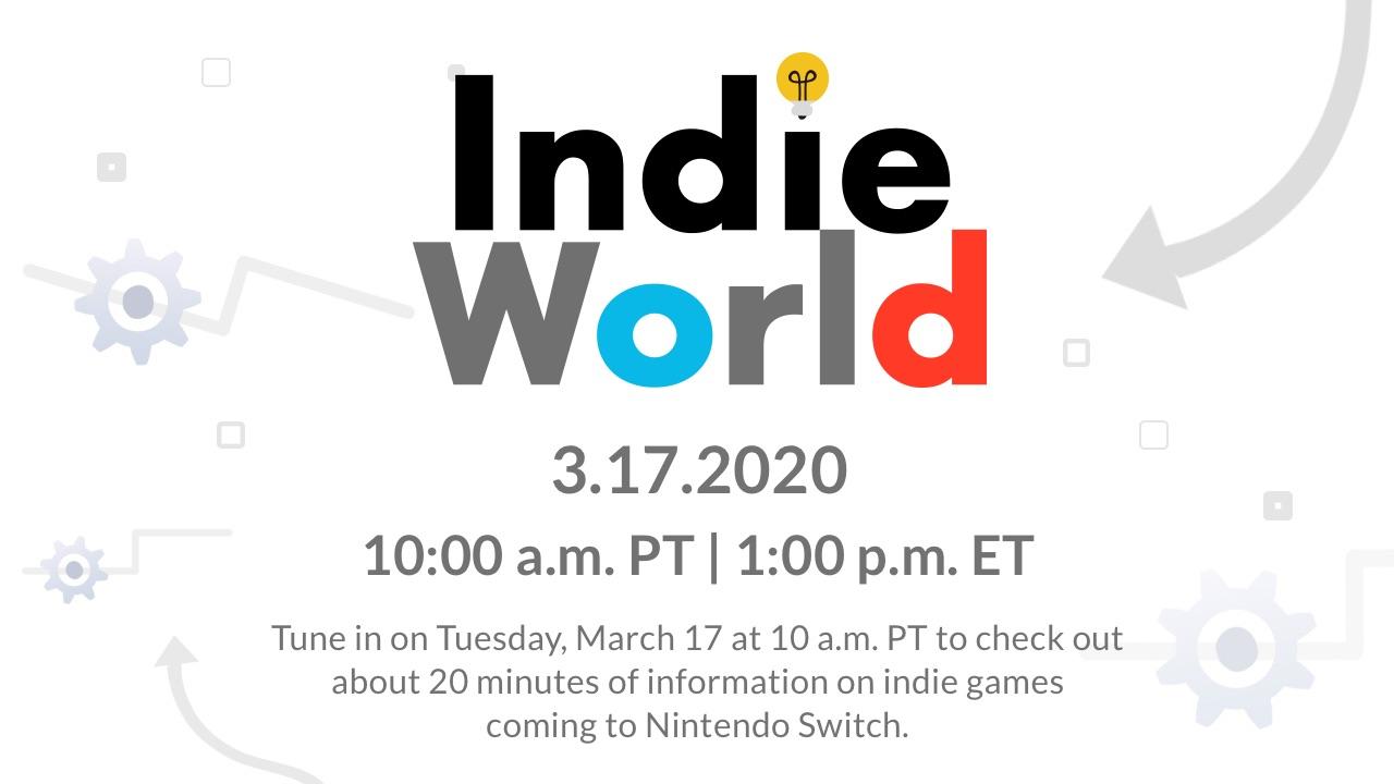 Nintendo Indie World: March 17, 2020