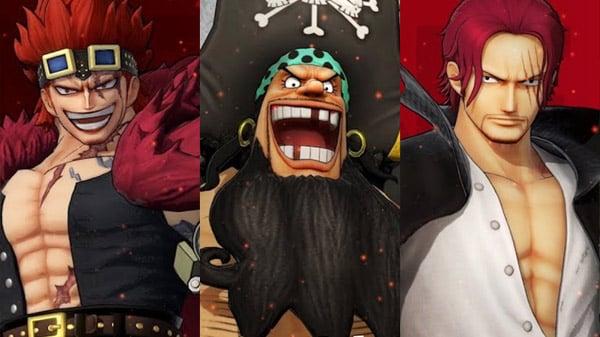 One Piece Pirate Warriors 4 Eustass Kid Marshall D Teach Blackbeard And Shanks Trailers Gematsu