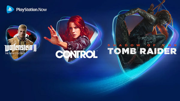 PlayStation Now adds Control, Shadow of the Tomb Raider, Wolfenstein II: The New Colossus, more