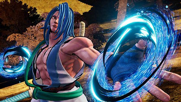 Samurai Shodown DLC character Sogetsu Kazama
