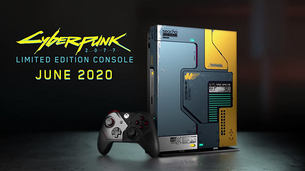 Xbox One X Cyberpunk 2077 Limited Edition Console