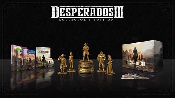 Desperados Iii Collector S Edition Announced Gematsu