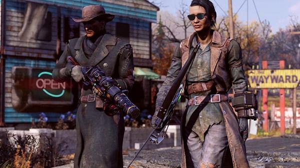 Fallout 76 'Wastelanders' update