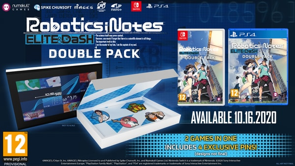 Robotics;Notes Elite & DaSH Double Pack