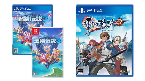 This Week's Japanese Game Releases: Trials of Mana, The Legend of Heroes: Zero no Kiseki for PS4, more