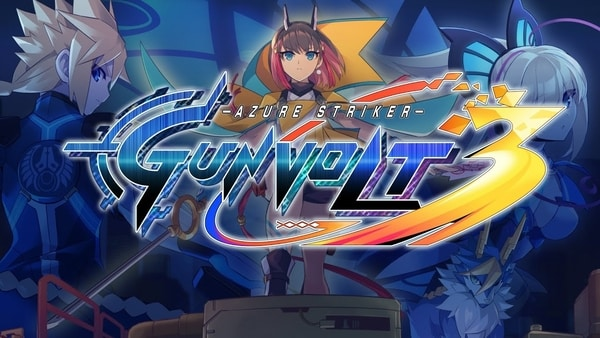 Azure Striker GUNVOLT 3 Revealed For Nintendo Switch