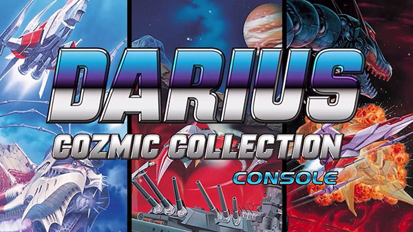 Darius Cozmic Collection Arcade and Console