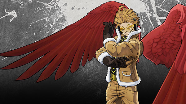 My Hero One's Justice 2 DLC character Hawks