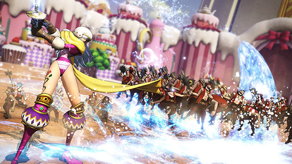 One Piece: Pirate Warriors 4 DLC character Charlotte Smoothie