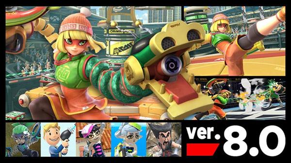 Super Smash Bros. Ultimate version 8.0.0 update
