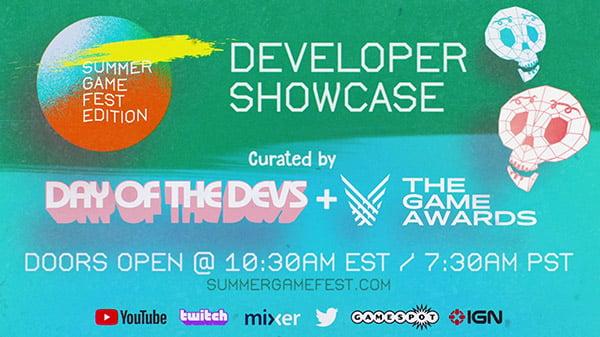Summer Game Fest 2020 June Developer Showcase