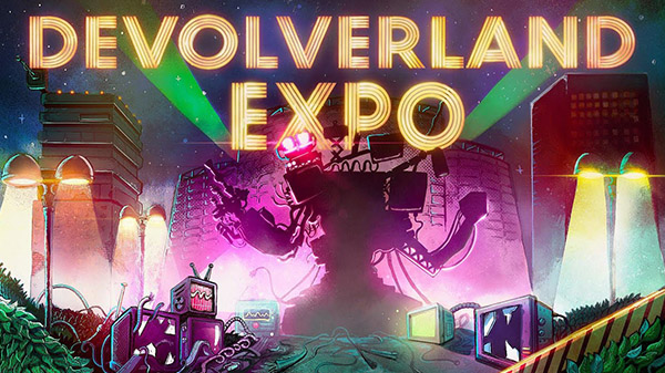 Devolverland Expo Is A Free Game Set In An Abandoned Gaming Convention