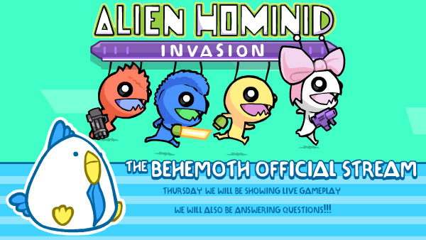 Alien Hominid Invasion Gameplay Live Stream: July 16, 2020