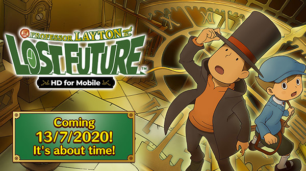 Professor Layton and the Lost Future HD for Mobile