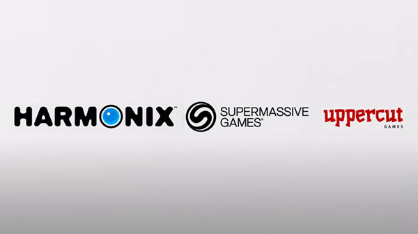Harmonix, Uppercut Games, and Supermassive Games