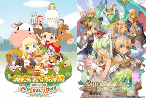 Story of Seasons: Friends of Mineral Town and Rune Factory 4 Special