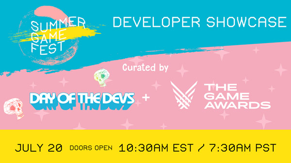 Summer Game Fest 2020 July Developer Showcase