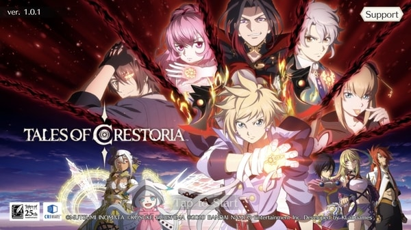 Tales of Crestoria now available - Gematsu
