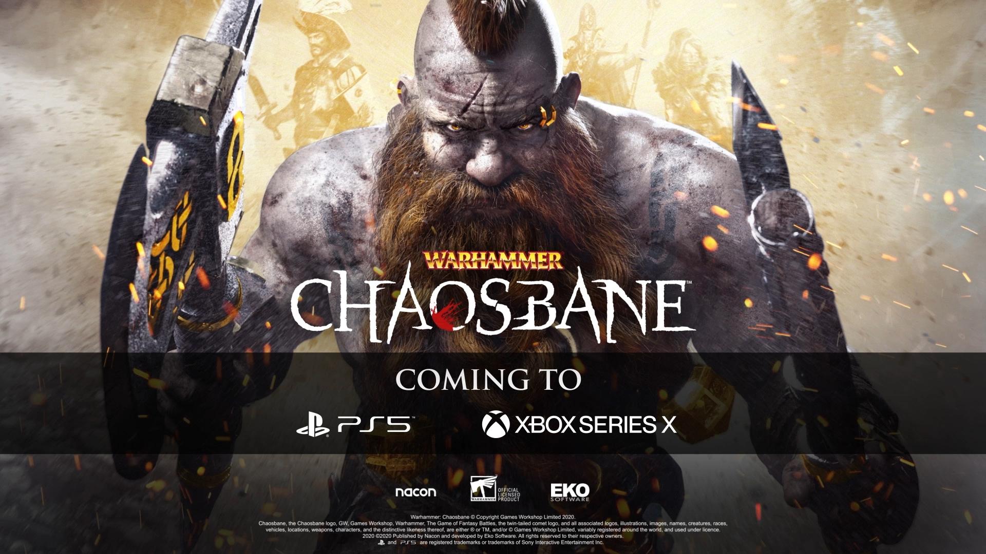 Warhammer: Chaosbane coming to PS5, Xbox Series X - Gematsu
