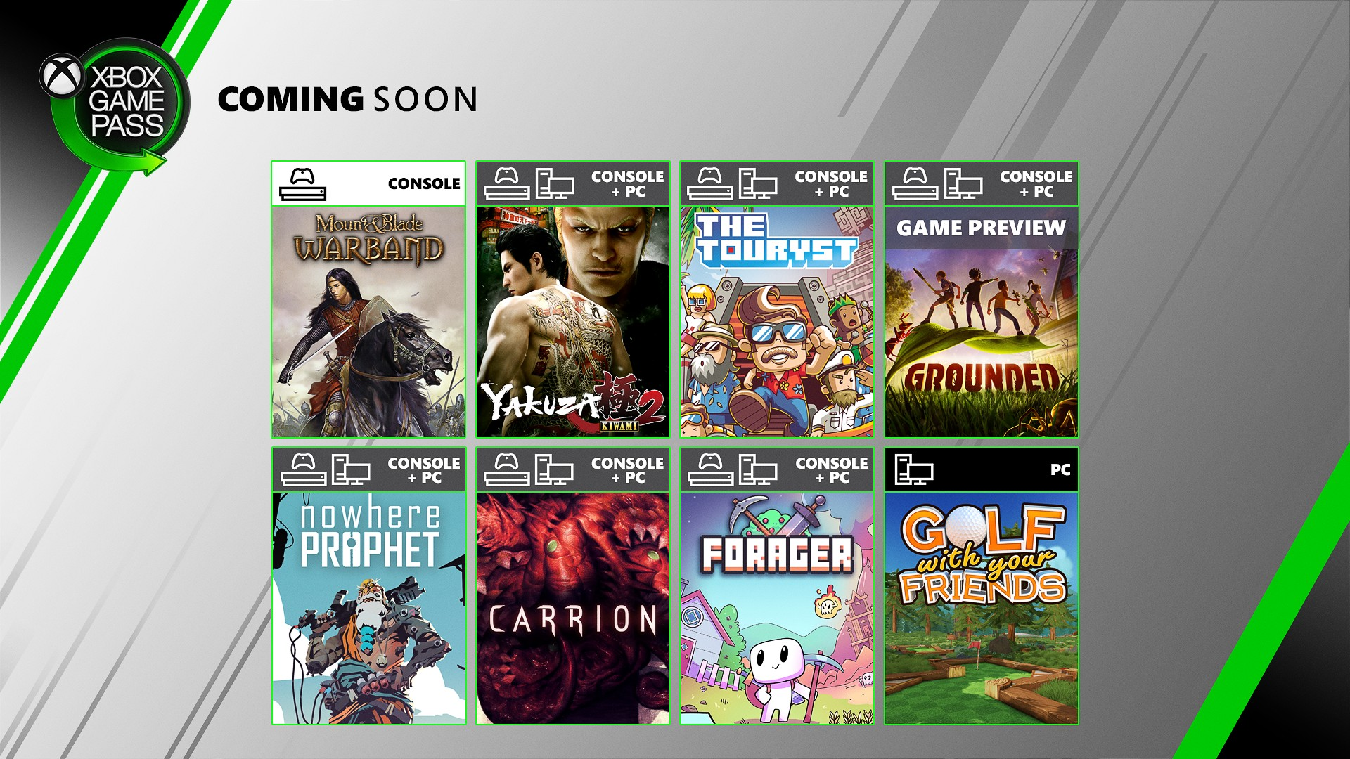 Xbox Game Pass Adds Forager Carrion Grounded The Touryst Yakuza Kiwami 2 And More In Late July Gematsu