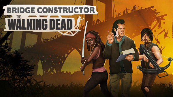 Bridge Constructor The Walking Dead revealed at Gamescom Opening Night