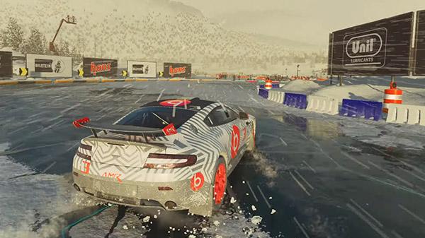 DIRT 5 'Ice Breaker' gameplay - Gematsu