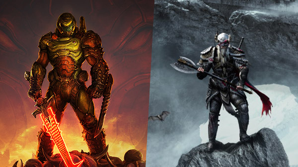 DOOM Eternal and The Elder Scrolls Online