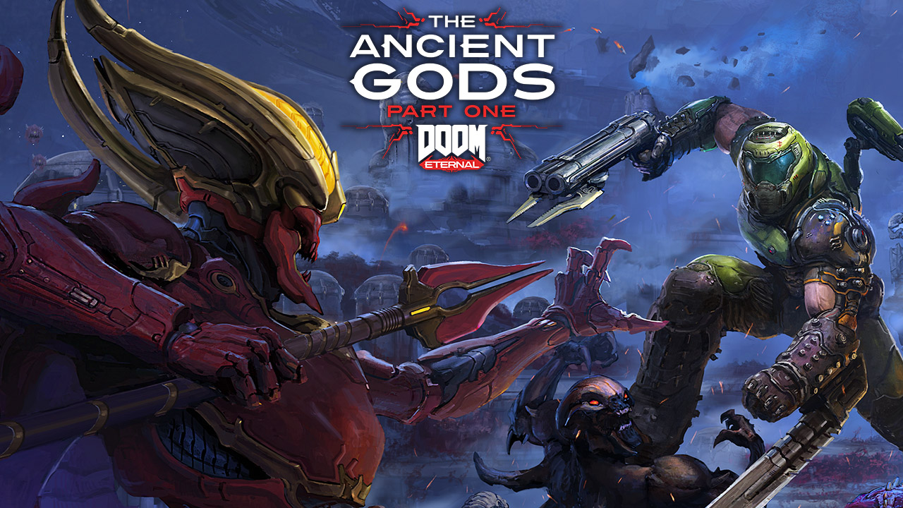 Doom Eternal Dlc The Ancient Gods Part One Teaser Trailer Gematsu