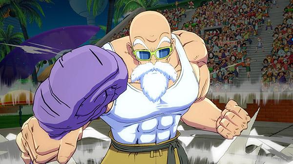 Dragon Ball FighterZ DLC character Master Roshi