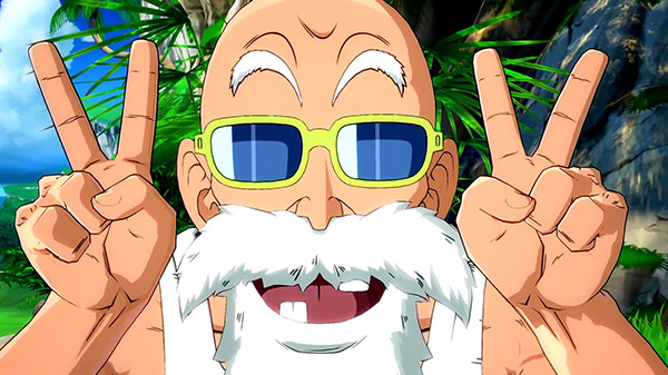 Dragon Ball FighterZ DLC character Master Roshi