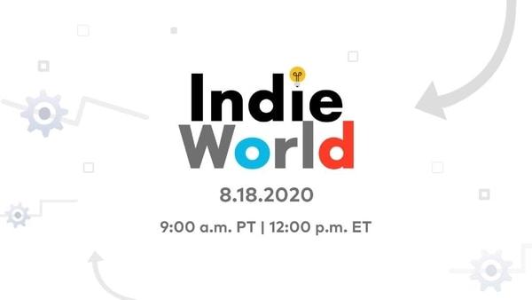 Nintendo Indie World Showcase set for August 18