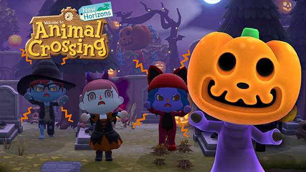 It's About To Get Spooky In Animal Crossing: New Horizons